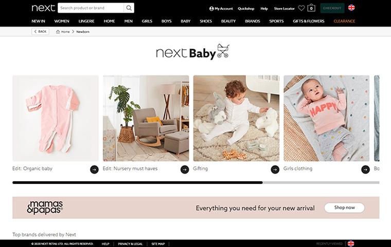 イギリスで人気のベビー・子供洋服通販サイト Next(ネクスト)