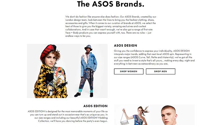 ASOS (エイソス)とはどんなサイト? コンセプトは?