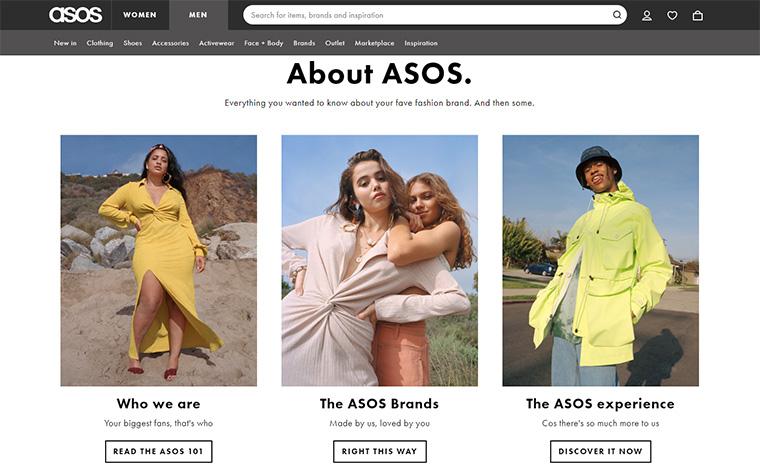 ASOS (エイソス)とはどんなファッション通販サイト? サイトの成り立ち