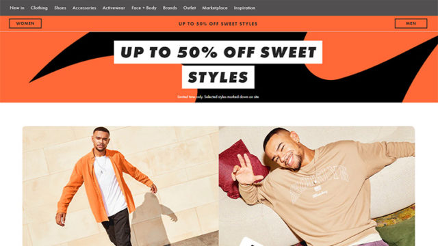 ASOS(エイソス)通販の買い方とサイト使い方