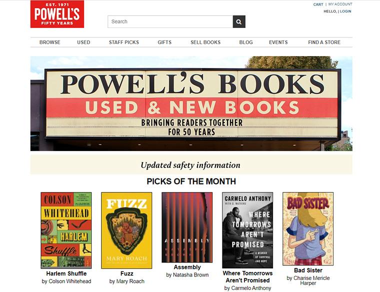 Powell's Books(パウウェルズブックス)